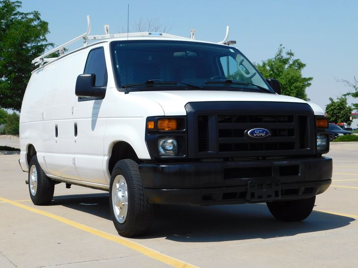 2014 ford econoline cargo van e 150 partition bins ladder rack gaylord sales leasing co