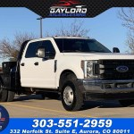 Sold 2019 Ford Super Duty F 350 Dually Crew Cab Flat Bed 60 C A 4x4 6 2l V8 In Aurora