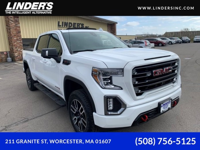 Sold 2019 Gmc Sierra 1500 At4 Crew Cab 4x4 In Worcester
