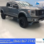 Sold 2018 Nissan Titan Xd Pro 4x Lifted Navi Rear Cam Buckets In Webster