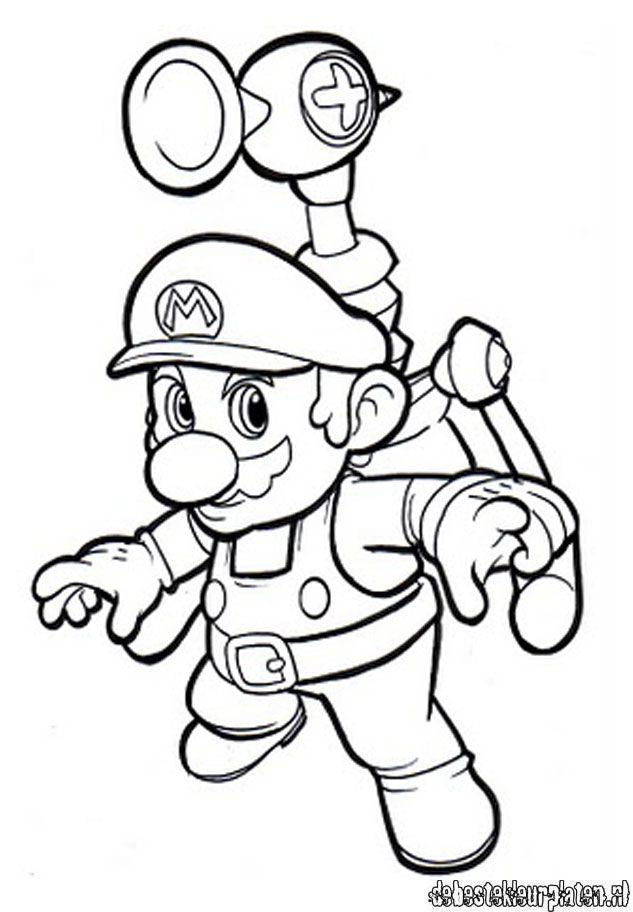 Mario7 De Beste Kleurplaten