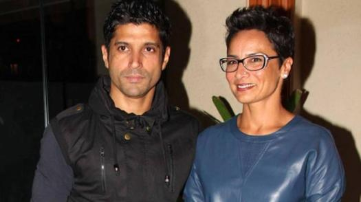 Image result for farhan akhtar wife