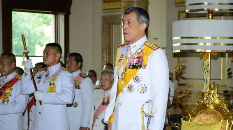 Image result for Crown Prince of Thailand and His People