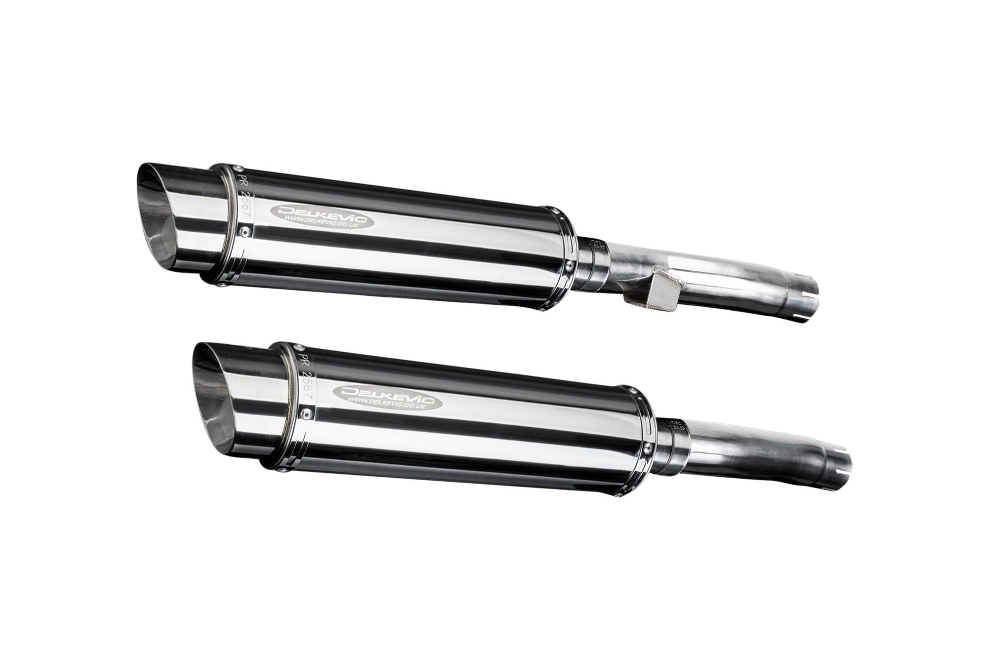 Kawasaki Zr Zephyr 92 95 14 Stainless Steel Mufflers