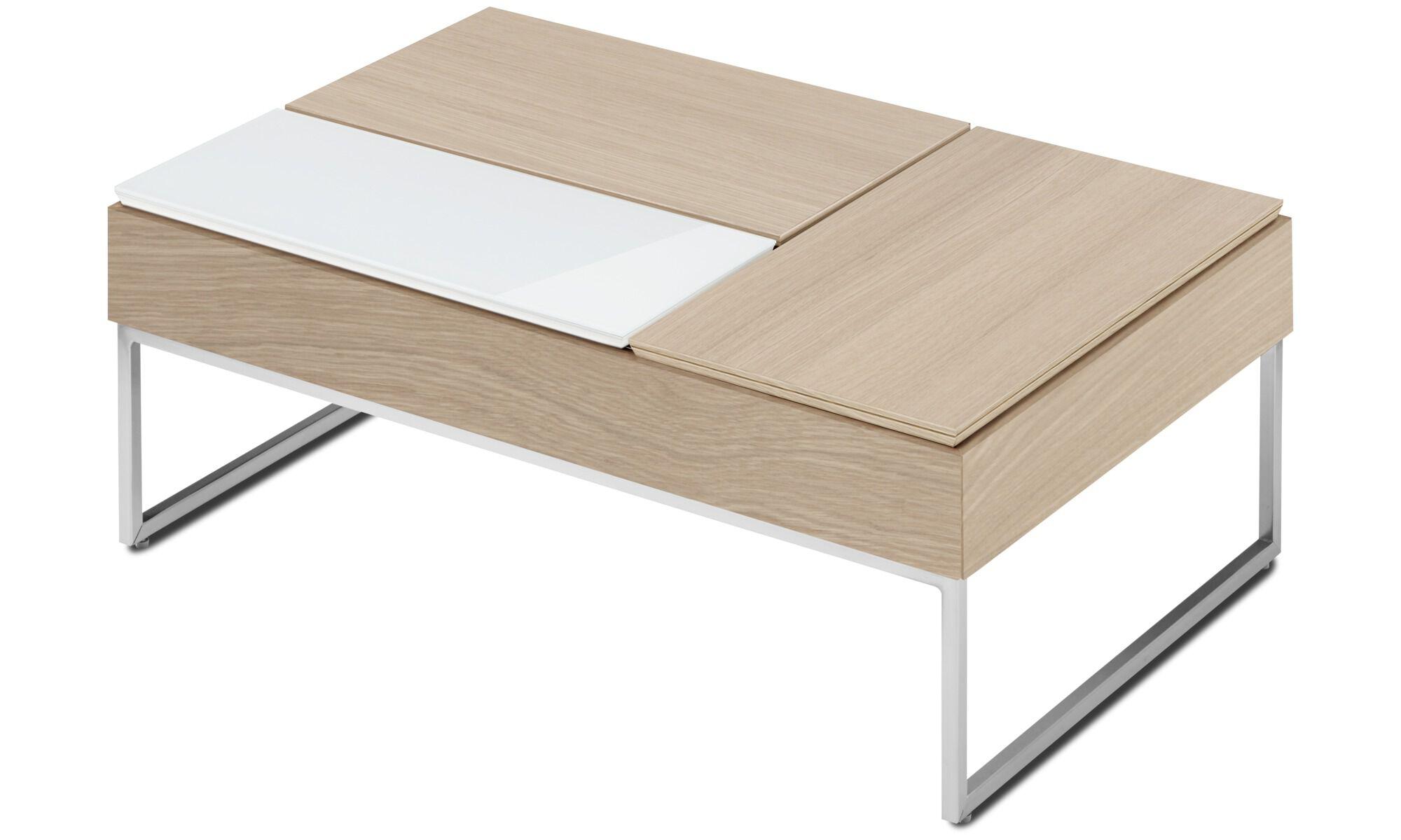 table basse multifonction chiva avec espace de rangement