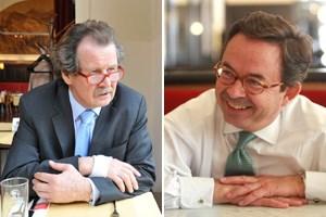 Manfred Nowak (li.) und Christian Strohal haben 1993 mit 10.000 VertreterInnen von Regierungen, den Vereinten Nationen und der Zivilgesellschaft an einem historischen Kompromiss für die Menschenrechte gearbeitet.