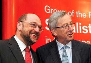 Martin Schulz, Jean-Claude Juncker - wird einer der beiden EU-Chef?