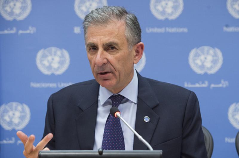 foto: un photo/eskinder debebe Laborde ist seit Juli 2013 Chef des UN-Anti-Terror-Komitees.