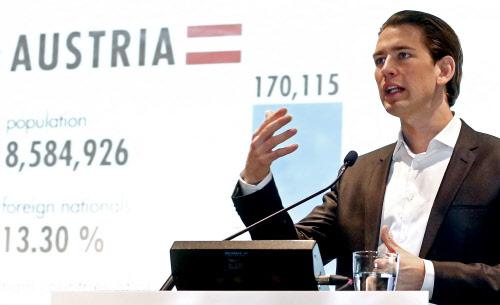 foto: apa/tatic Die Webseite des Außenministeriums – im Bild Minister Sebastian Kurz (ÖVP) – war am Freitagabend offline