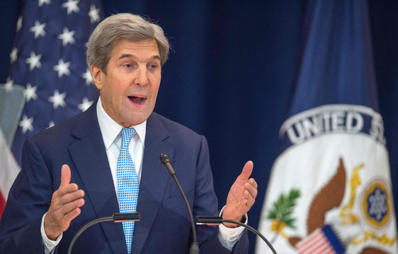 foto: apa/afp/richards John Kerry, Außenminister
