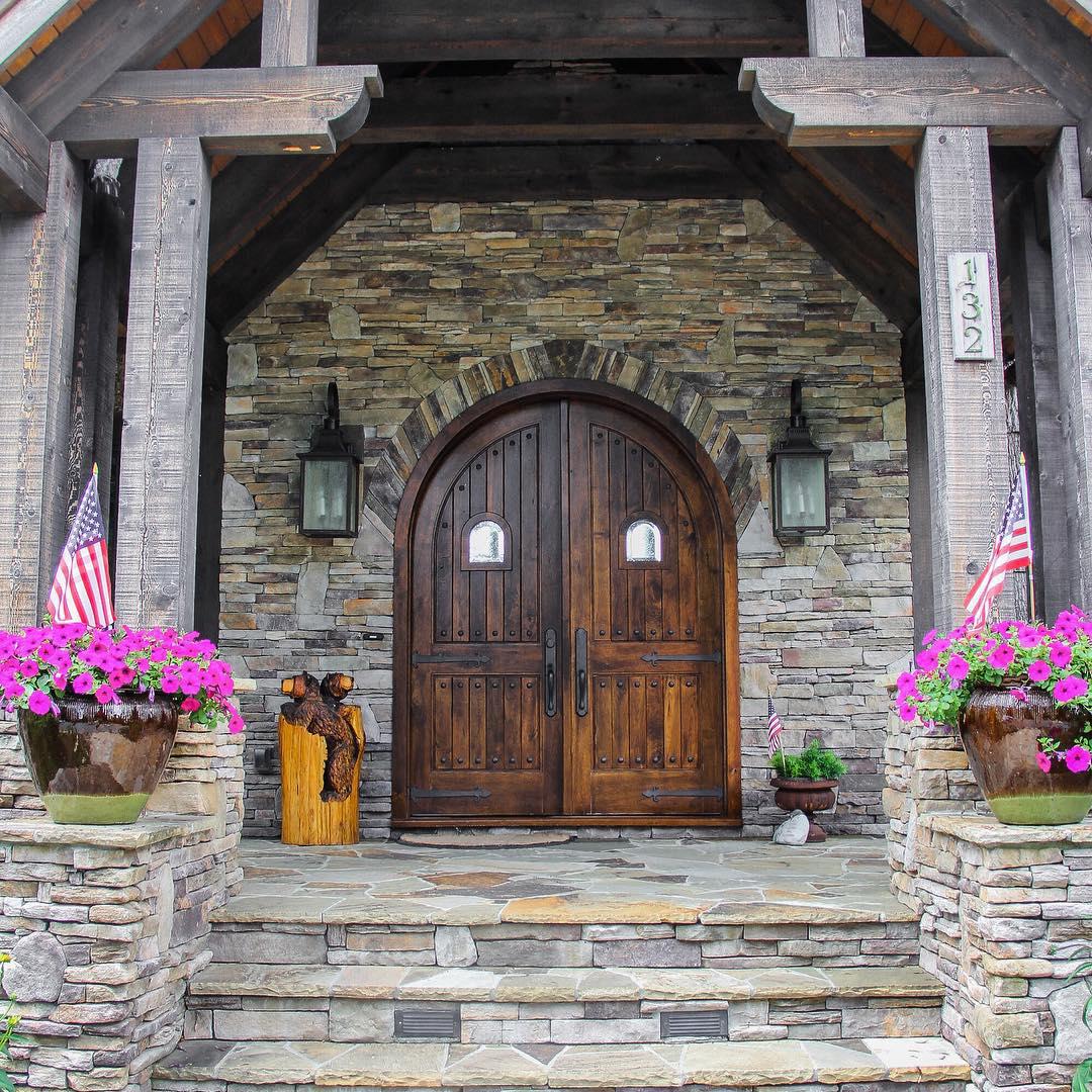 15 Rustic Residence Exterior Designs Ideas Design