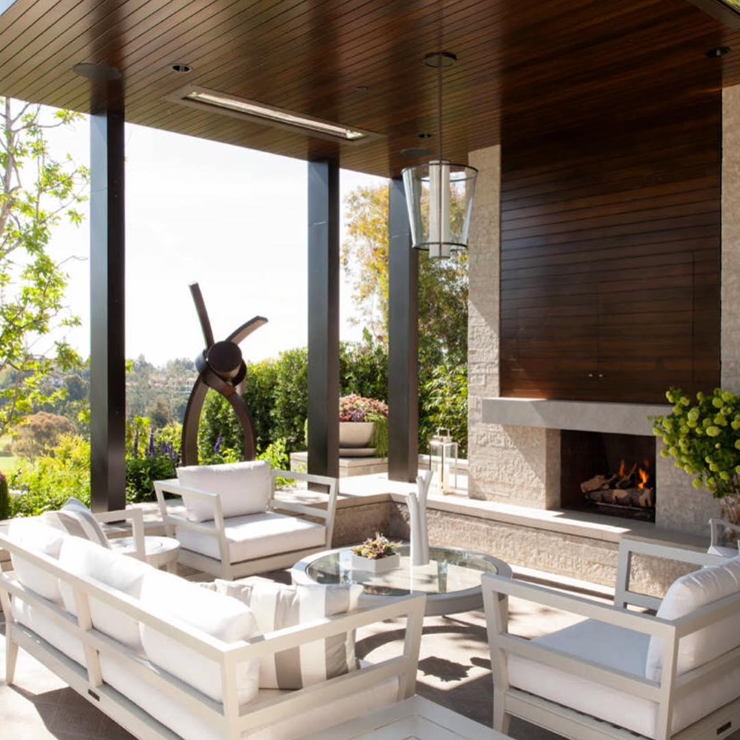 27+ Contemporary Patio Outdoor Designs, Decorating Ideas ... on Modern Garden Patio Ideas id=88764