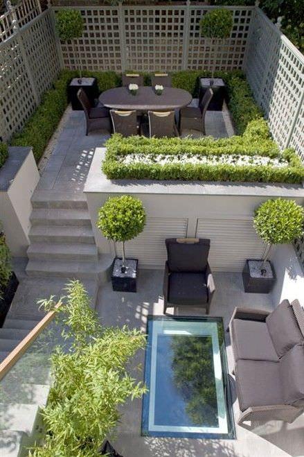27+ Contemporary Patio Outdoor Designs, Decorating Ideas ... on Modern Garden Patio Ideas id=53554