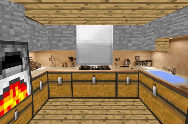 19+ Mine Craft Kitchen Designs, Decorating Ideas | Design ...