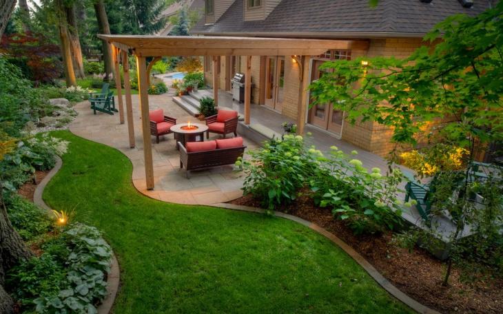 18+ Latest Backyard Landscaping Designs, Ideas | Design ... on Backyard Layout id=76629