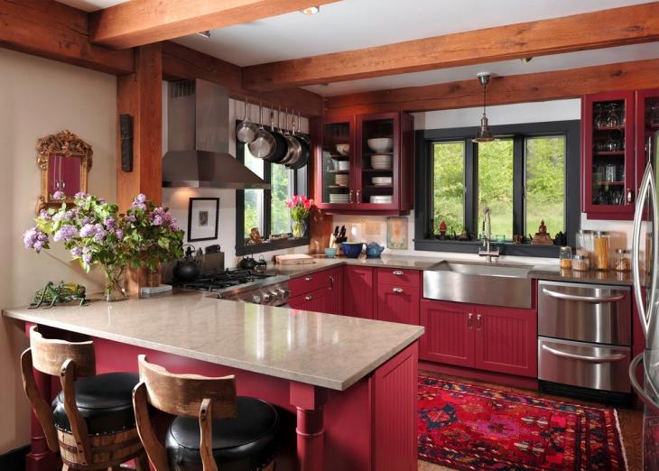 20 U Shaped Kitchen Designs Ideas Design Trends