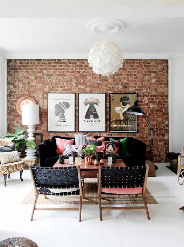 30+ Brick Walls Designs, Wall Decor Ideas | Design Trends ... on Brick Wall Decorating Ideas  id=36395
