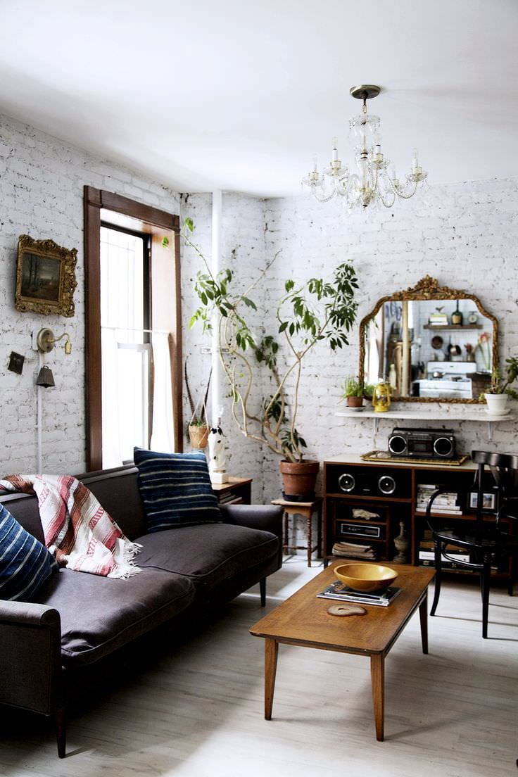 30+ Brick Walls Designs, Wall Decor Ideas | Design Trends ... on Brick Wall Decorating Ideas  id=26487