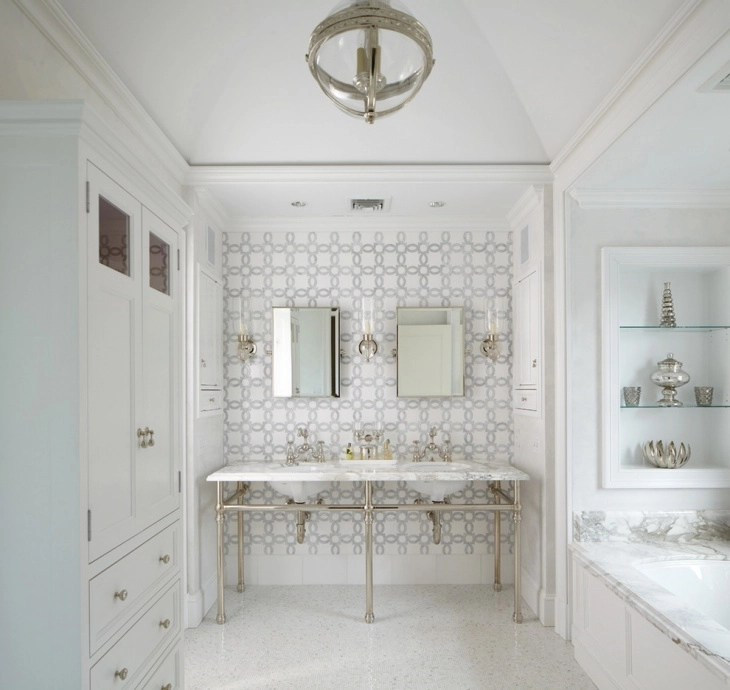Geometric Tiles Designs | Design Trends - Premium PSD ... on Floral Tile Bathroom Ideas  id=18424