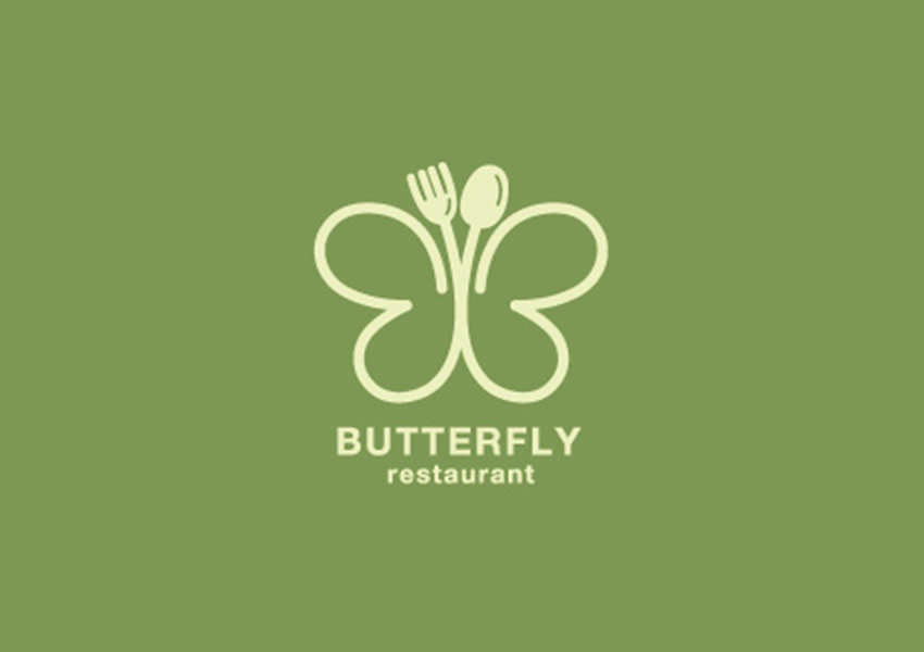 33 Colorful Butterfly Logo Designs Ideas Examples