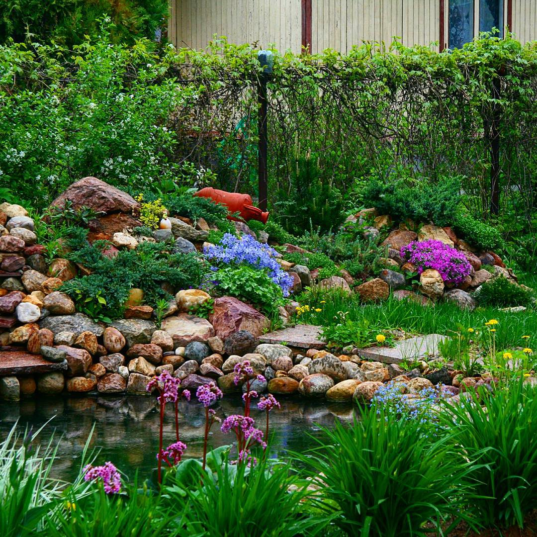 30+ Rock Garden Designs | Garden Designs | Design Trends ... on Backyard Rock Designs id=77029