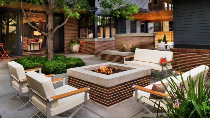 18+ Outdoor Fire Pit Designs, Ideas | Design Trends ... on Fire Pit Design  id=68798