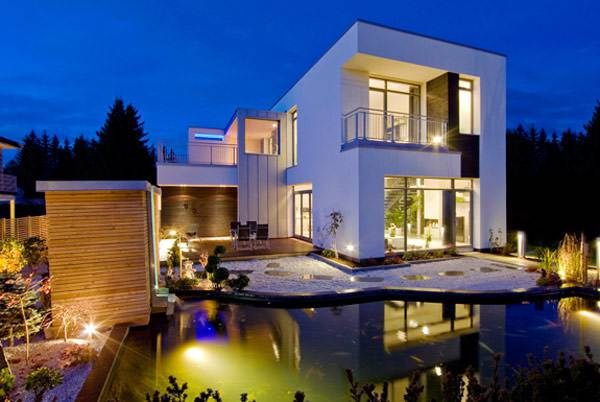 22+ Modern Home Designs, Decorating Ideas   Design Trends ... on Modern Style Houses  id=58588