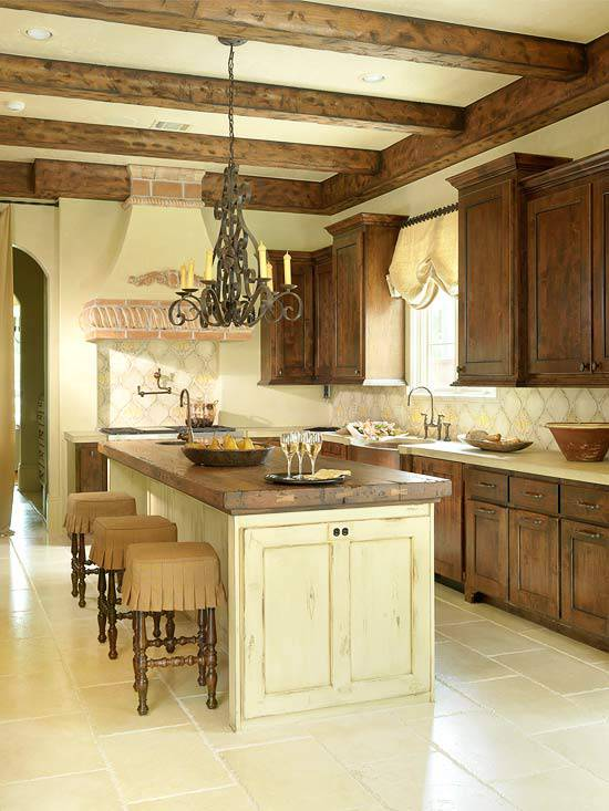 27+ Traditional Kitchen Designs, Decorating Ideas   Design ... on Traditional Kitchen Wall Decor  id=41556