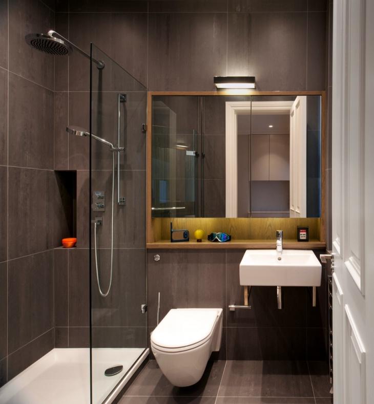 20+ Small Master Bathroom Designs, Decorating Ideas ... on Small Space Small Bathroom Ideas Uk id=45241