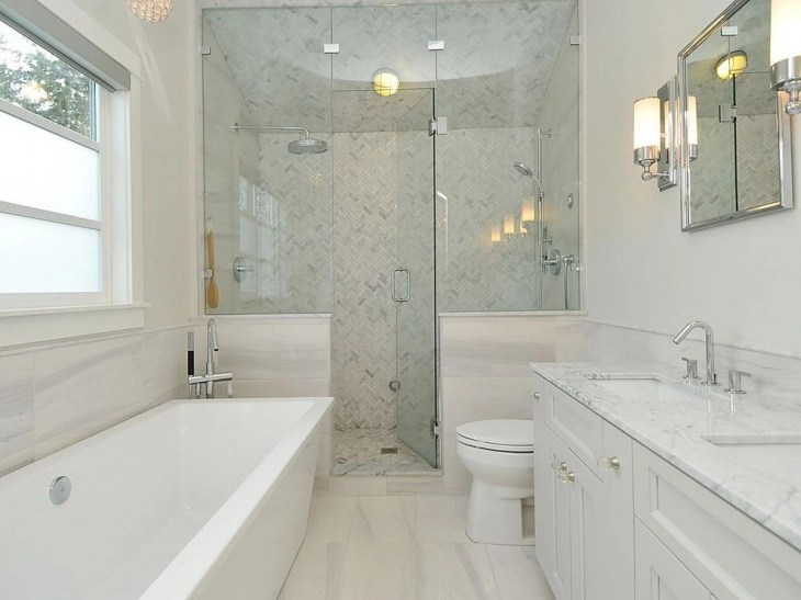 20+ Small Master Bathroom Designs, Decorating Ideas ... on Small Bathroom Ideas With Tub id=36595