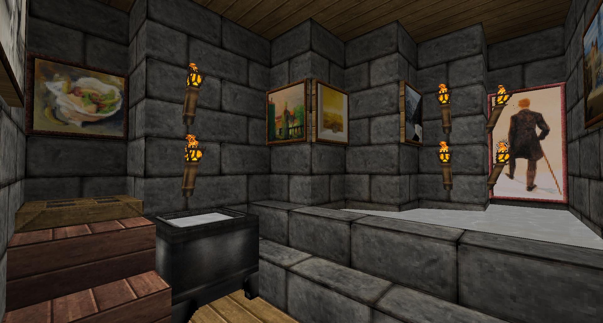 14 Minecraft Bathroom Designs Decorating Ideas Design