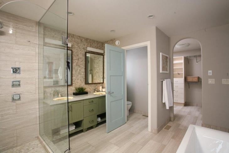 Cream walls and dark wood furniture idea #1: 20+ Bathroom Paint Designs, Decorating Ideas | Design