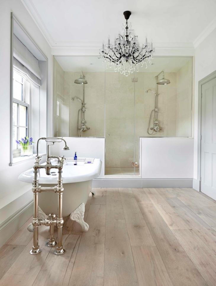 20+ Bathroom Chandelier Designs, Decorating Ideas | Design ... on Beautiful Bathroom Ideas  id=37764