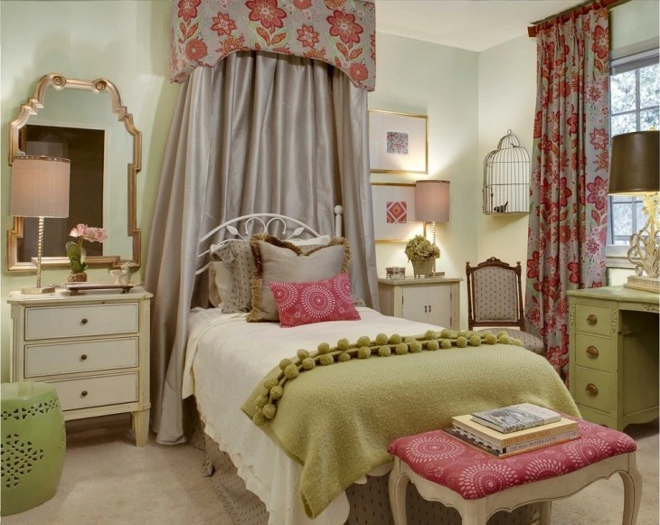 20+ Vintage Teen Girls Bedroom Designs, Decorating Ideas ... on Teen Room Girl  id=55551