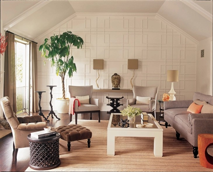 20+ Living Room Wall Designs, Decor Ideas