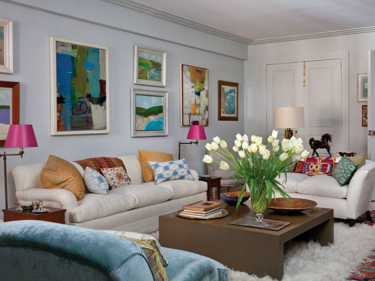 27+ Eclectic Living Room Designs, Decorating Ideas ... on Colourful Living Room  id=39681