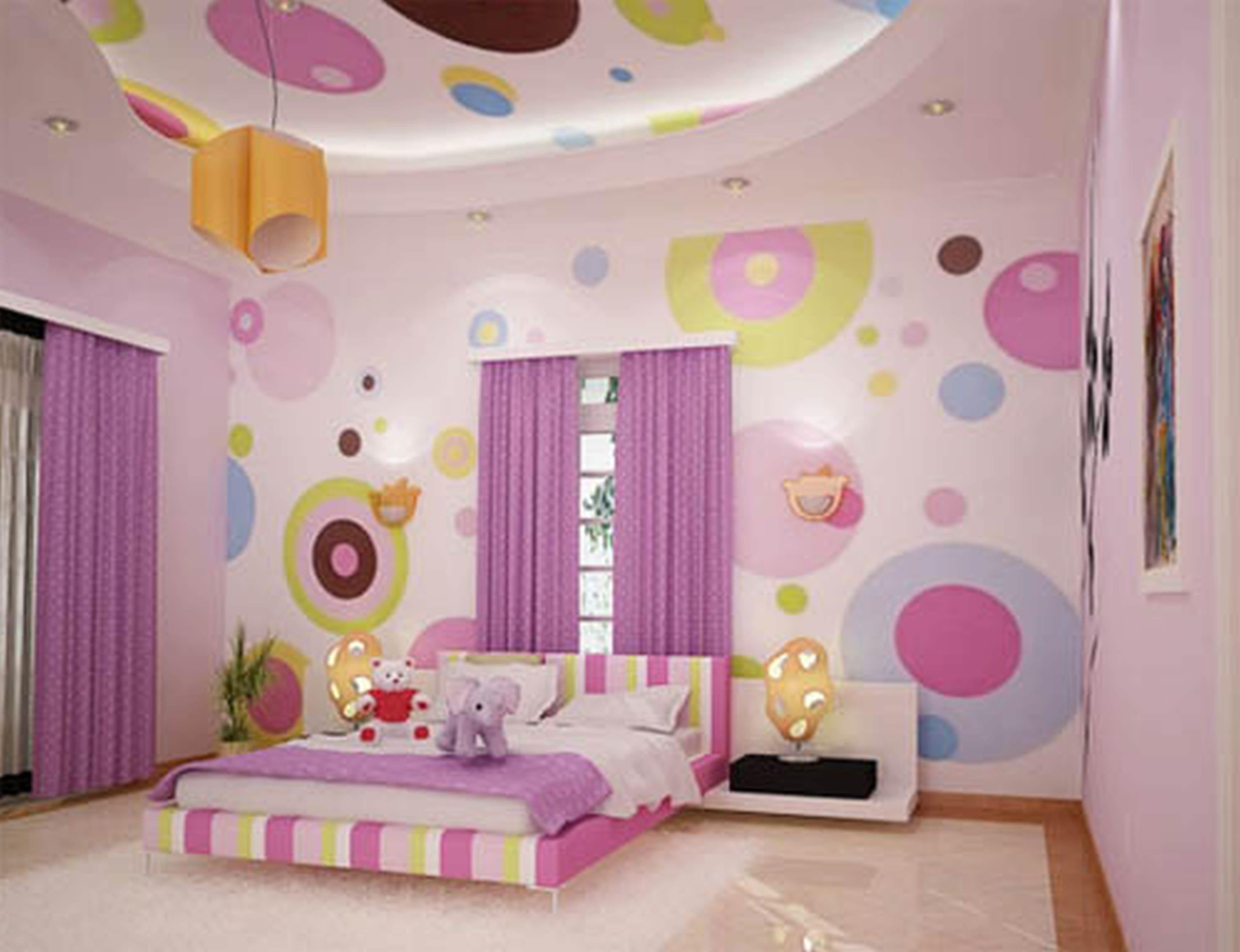 15+ Polka Dot Interior Wall Designs, Decor Ideas
