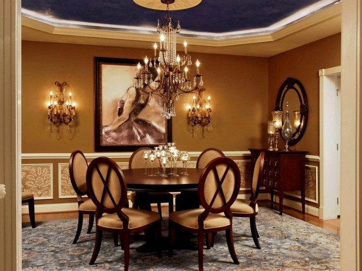 20+ Luxury Dining Room Designs, Decorating Ideas