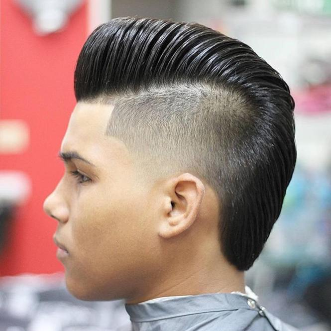 Simple Haircut Designs Such As These Cool Lines Cut Into A Fade Can Be Stylish Yet Understated