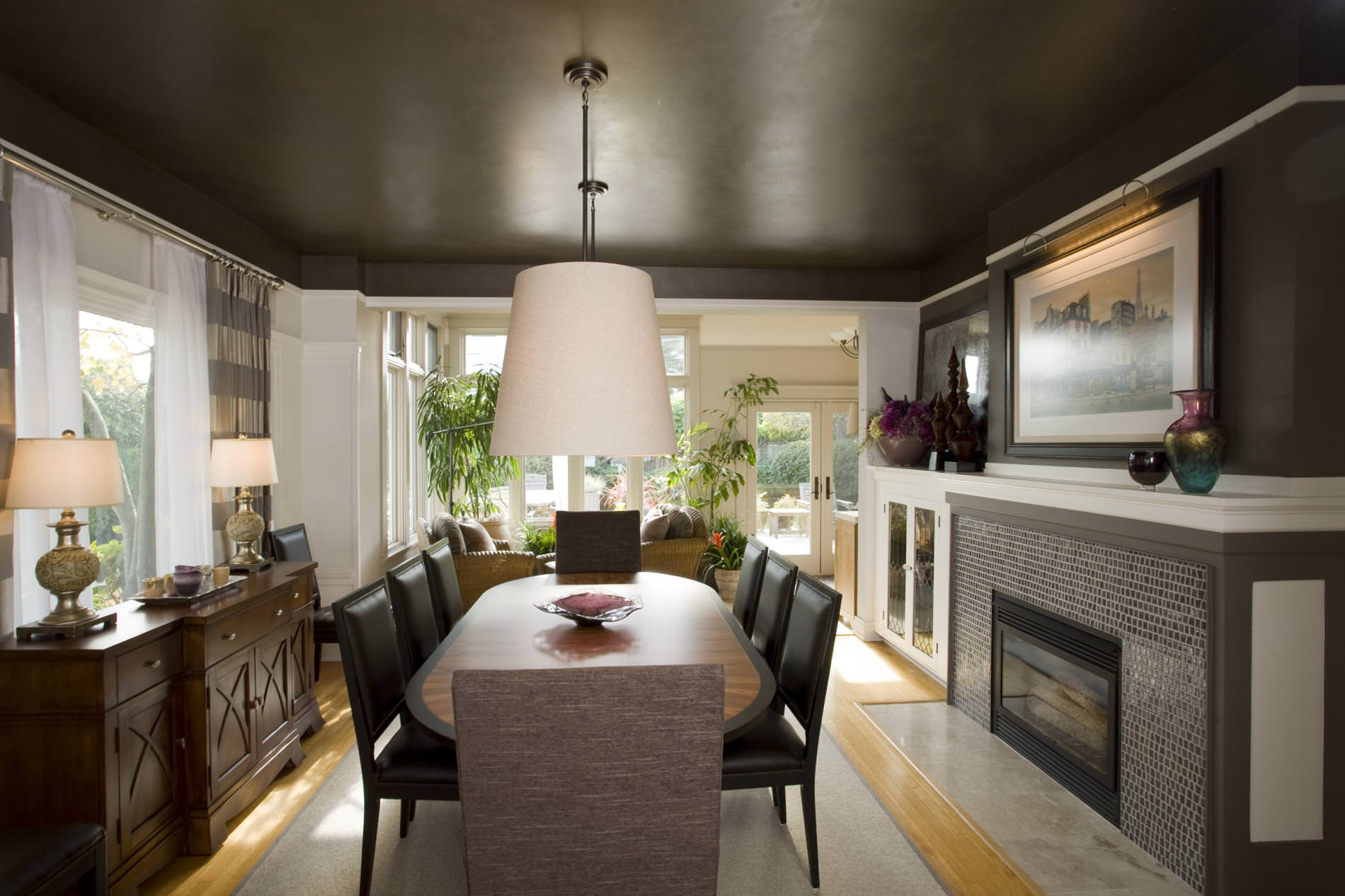 15+ Traditional Dining Room Designs | Dining Room designs ... on Dining Table Ceiling Design  id=73462