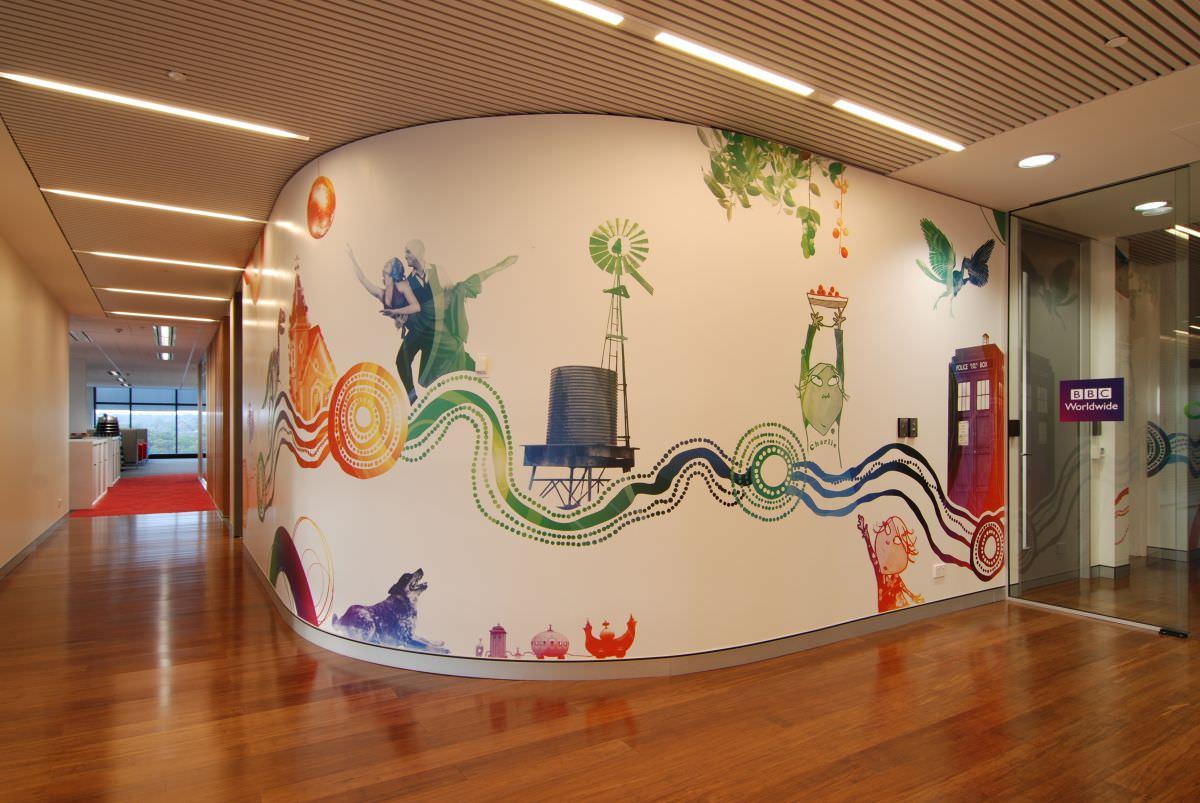 29+ Office Wall Designs, Decor Ideas