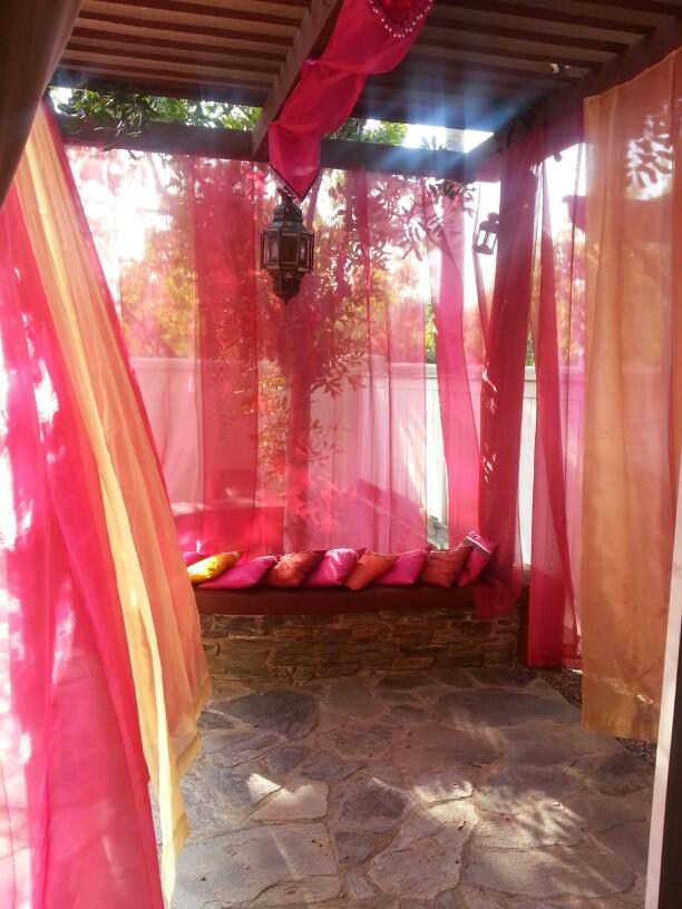 18+ Moroccan Patio Design, Decorating Ideas | Design ... on Moroccan Backyard Design  id=51859