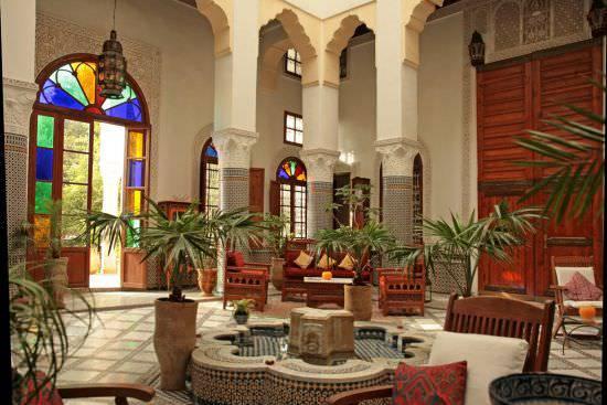 18+ Moroccan Patio Design, Decorating Ideas | Design ... on Moroccan Backyard Design  id=29468
