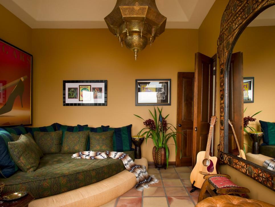 18+ Moroccan Patio Design, Decorating Ideas | Design ... on Moroccan Backyard Design  id=79783