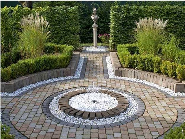 30+ Pebble Garden Designs, Decorating Ideas   Design ... on Pebble Patio Ideas id=97950