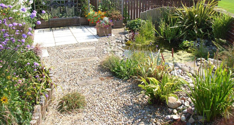 30+ Pebble Garden Designs, Decorating Ideas   Design ... on Backyard Pebble Ideas  id=45698