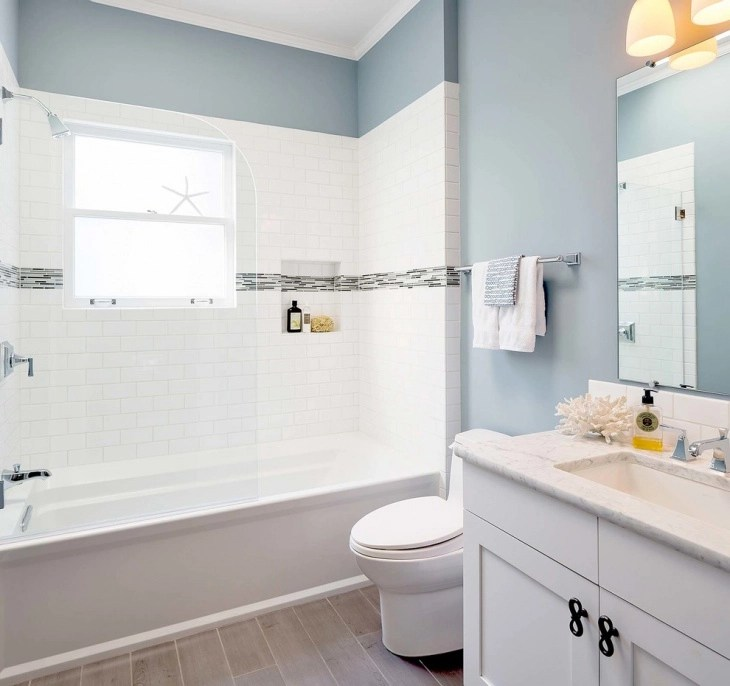 20+ Small Bathroom Tile Designs, Decorating Ideas | Design ... on Floral Tile Bathroom Ideas  id=61491