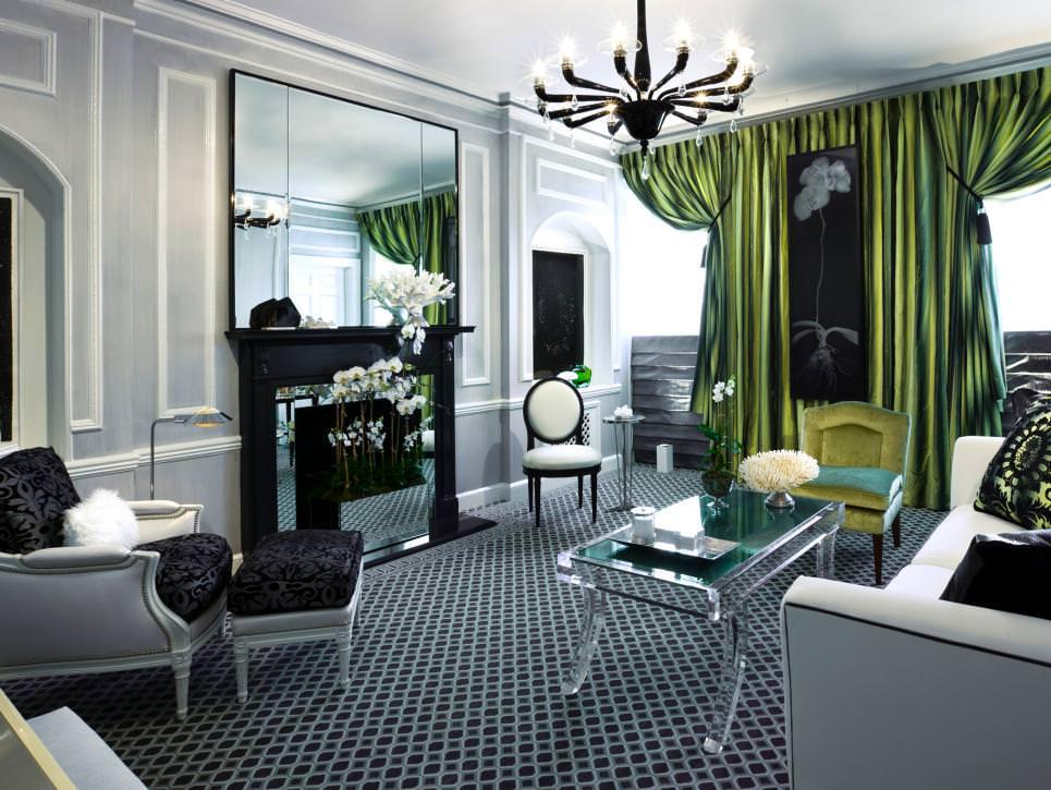 20+ Living Room Curtain Designs, Decorating Ideas | Design ... on Living Room Drapes Ideas  id=73259
