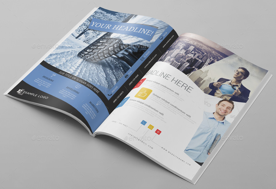 So if you're going to present something and looking for ad mockups then do consider using this. 15 Customizable Magazine Ad Psd Mockup Psd Download Design Trends Premium Psd Vector Downloads