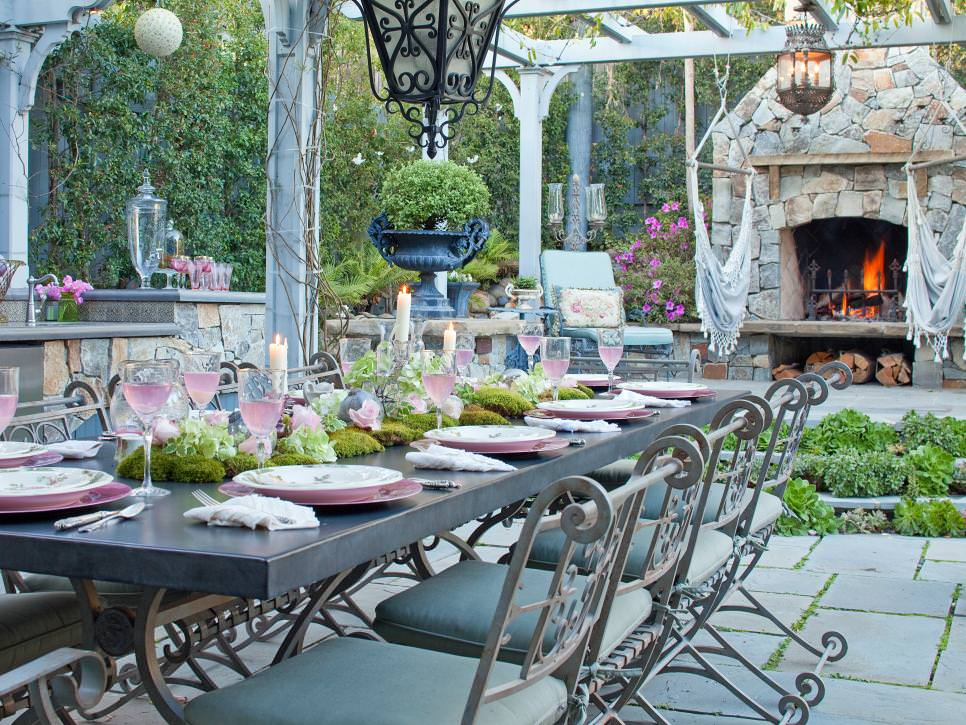 26 Outdoor Dining Room Designs Decorating Ideas Design